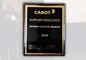 Northern Safety Recognized by Cabot Corporation